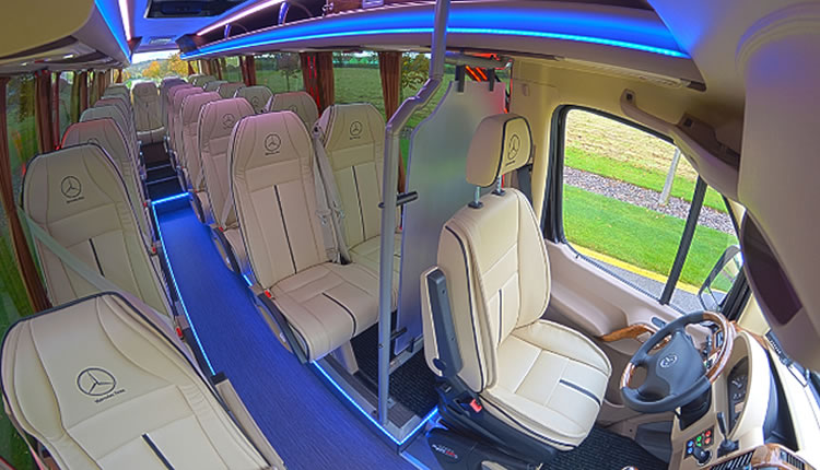 MERCEDES SPRINTER, VW CRAFTER 22 + 1, 23 + 1